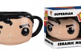 Superman Pop! Ceramic Mug